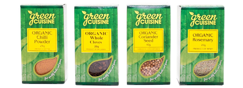 Green Cuisine Organic Box Range